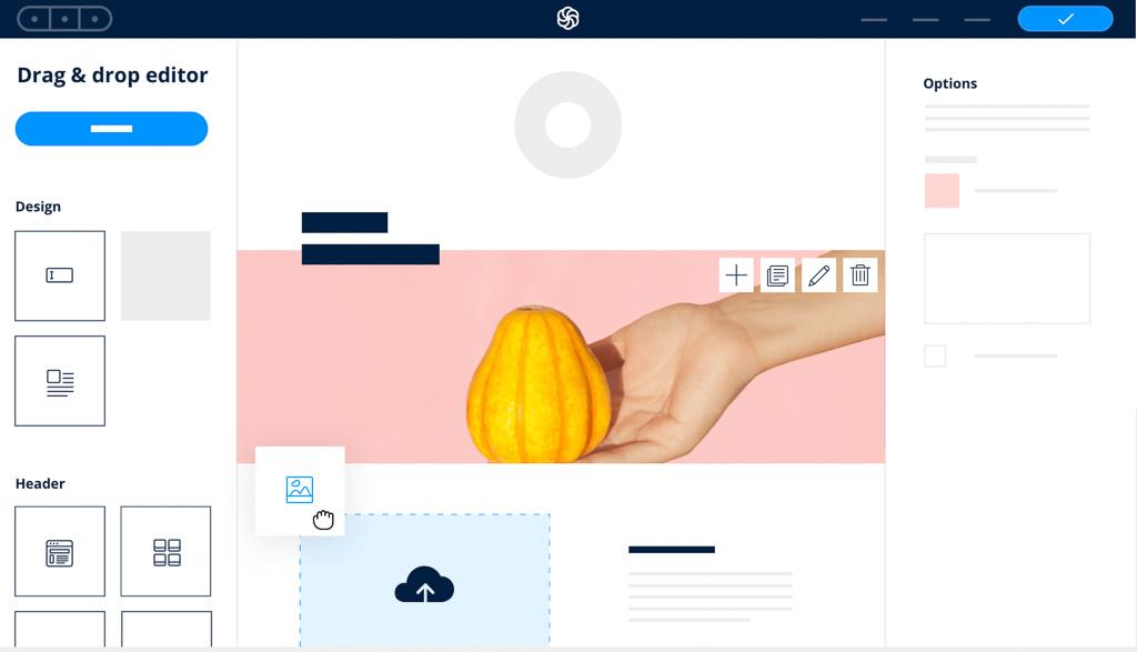 Sending Blue email marketing software